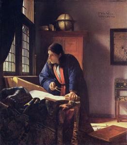 Vermeer, Geographer