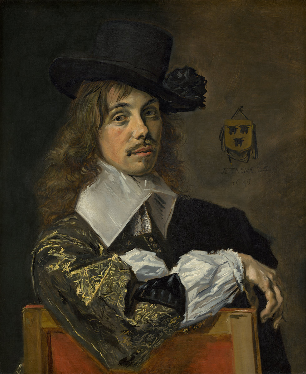 Frans Hals (Dutch, c. 1582/1583 - 1666 ), Willem Coymans, 1645, oil on canvas, Andrew W. Mellon Collection