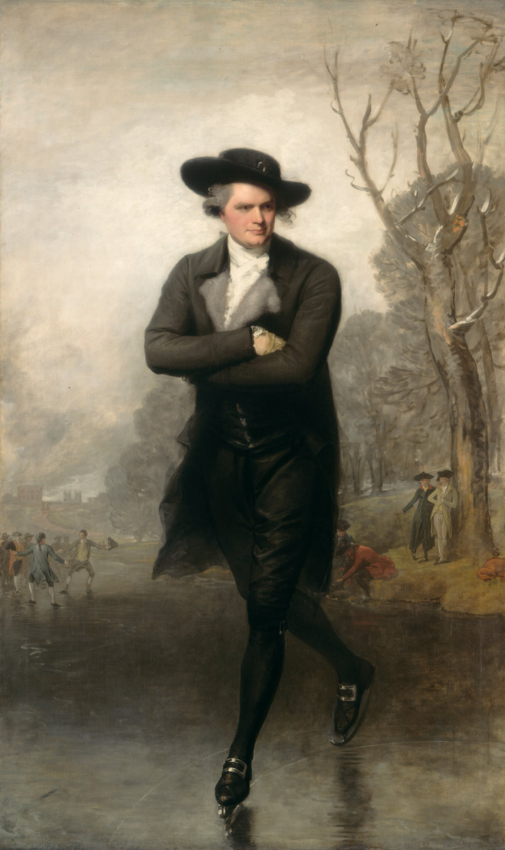 Gilbert Stuart, The Skater (Portrait of William Grant), American, 1755 - 1828, 1782, oil on canvas, Andrew W. Mellon Collection