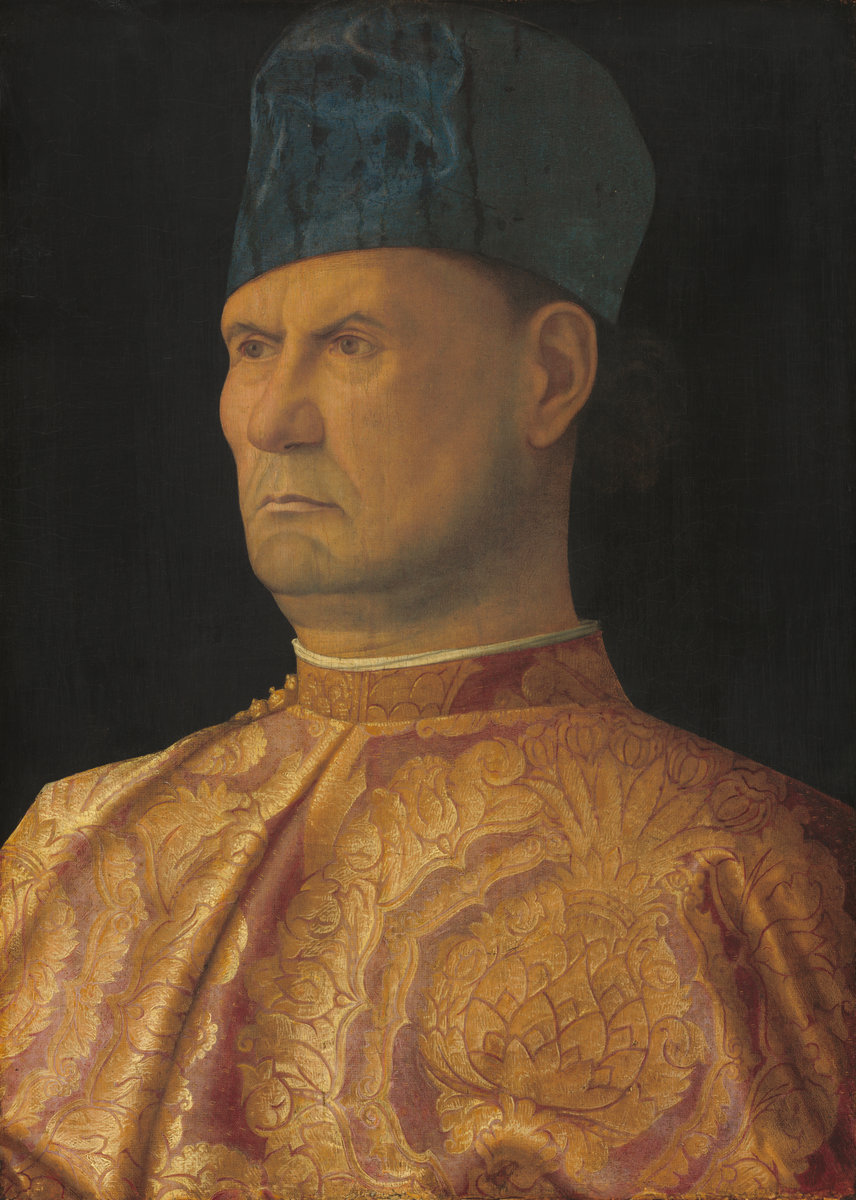 Attributed to Giovanni Bellini (Venetian, c. 1430/1435 - 1516 ), Giovanni Emo, c. 1475/1480, oil on panel transferred to canvas mounted on panel. Washington, National Gallery, Samuel H. Kress Collection 1939.1.224. Photo: National Gallery
