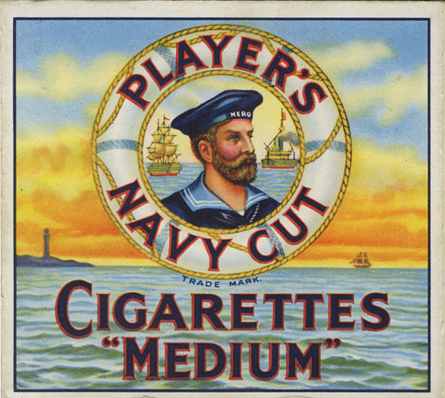 Player's Cigarettes logo