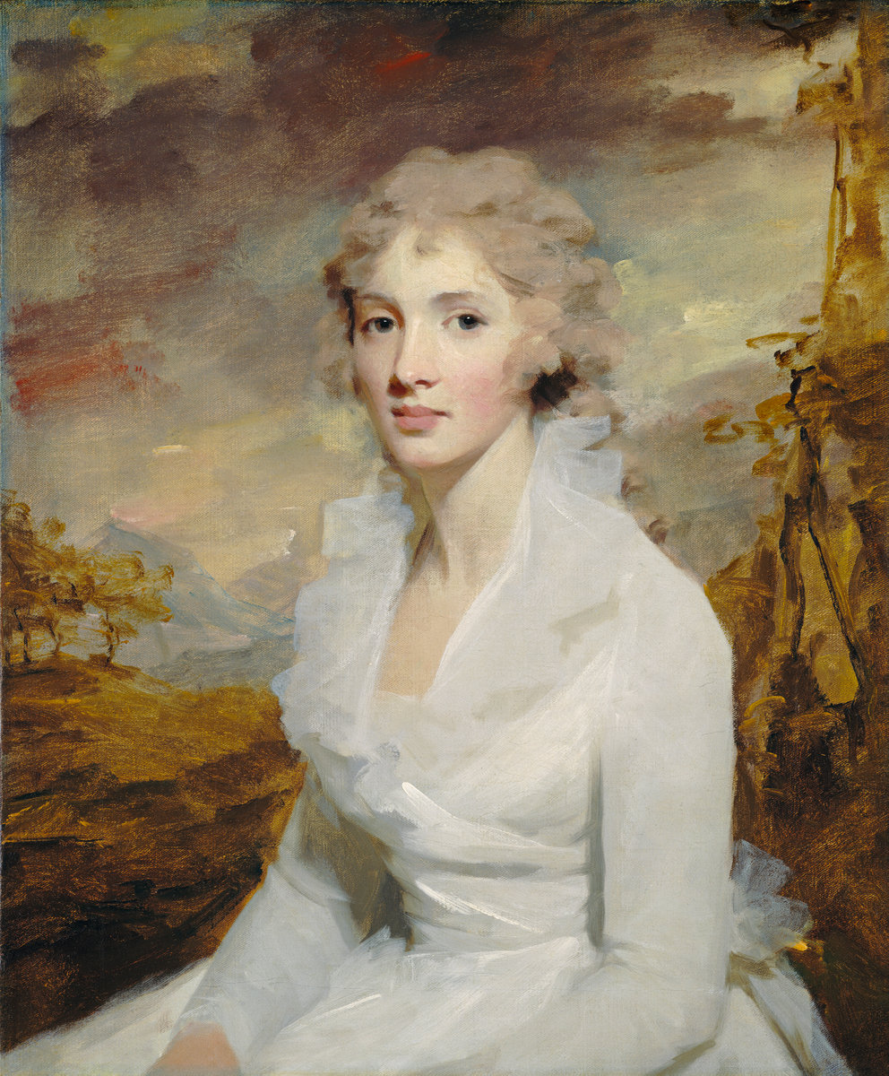Sir Henry Raeburn, Miss Eleanor Urquhart, Scottish, 1756 - 1823, c. 1793, oil on canvas. Washington, National Gallery, Andrew W. Mellon Collection
