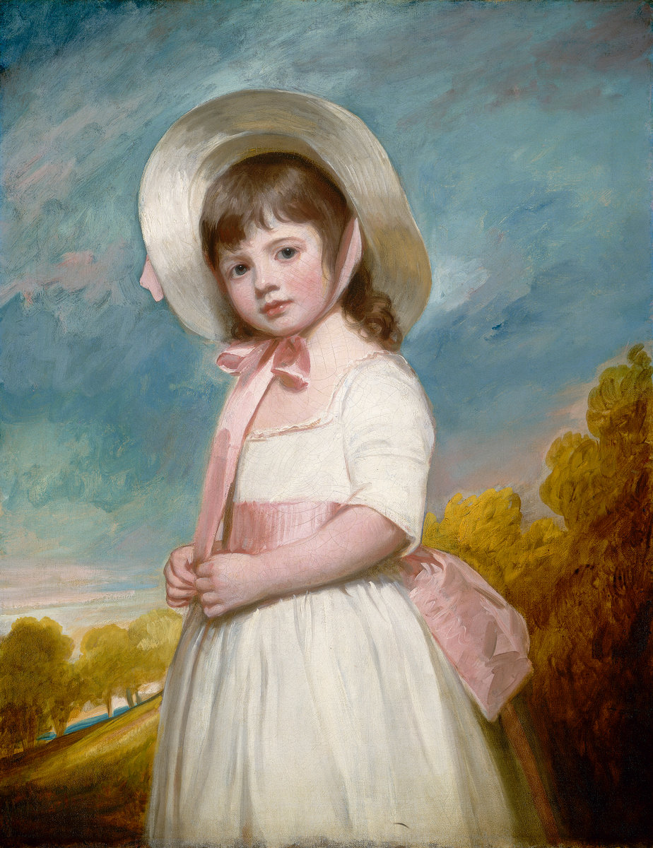George Romney, Miss Juliana Willoughby, British, 1734 - 1802, 1781-1783, oil on canvas. Washington, National Gallery, Andrew W. Mellon Collection