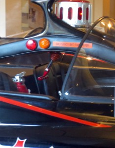 The Emergency Bat Turn Lever AND Bat Extinguisher!