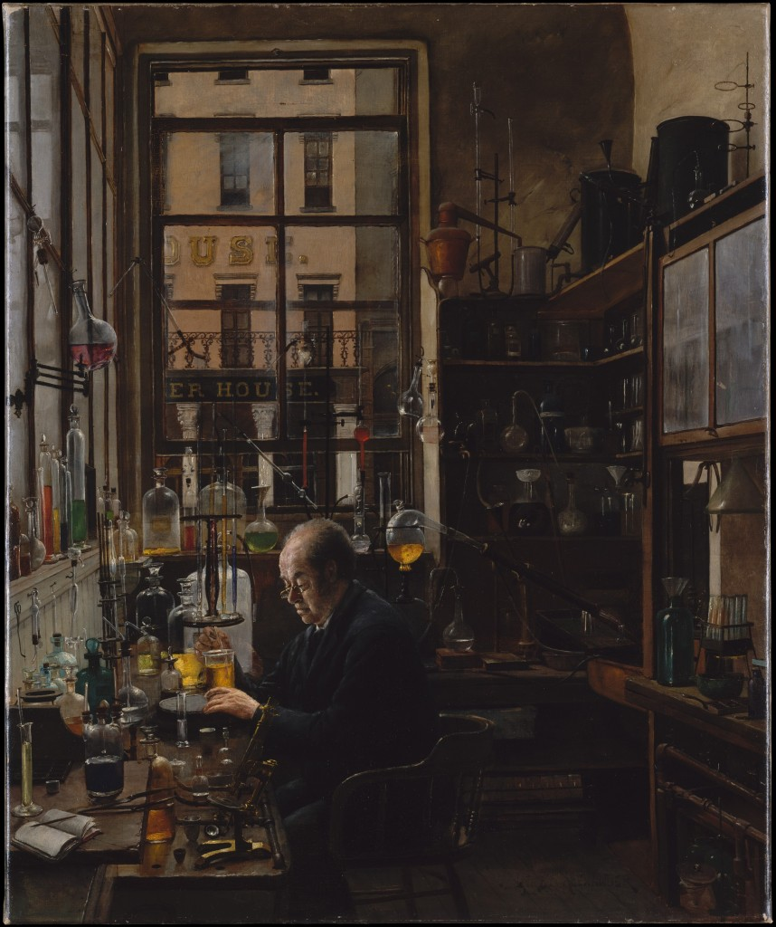 Henry Alexander, In the Lab, ca. 1885-87. Metropolitan Museum of Art, The Alfred N. Punnett Endowment Fund, 1939. Photo: MetMuseum.org