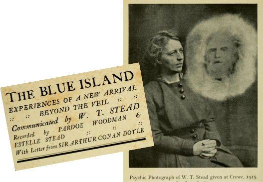 "Stead's ""last"" book, The Blue Island"
