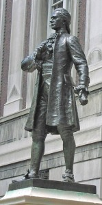 William Ordway Partridge, Alexander Hamilton, 1908. Photo (c) 2014 Dianne L. Durante