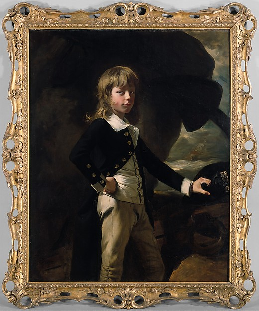 John Singleton Copley, Midshipman Augustus Brine, 1782. Metropolitan Museum of Art, Bequest of Richard De Wolfe Brixey, 1943. Photo: MetMuseum.org