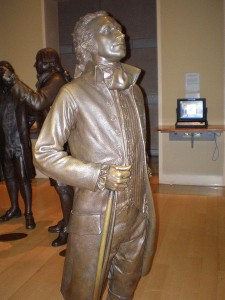 Hamilton at National Constitution Center. Sculptures: StudioEIS, Brooklyn. Photo: Midnightdreary / Wikimedia