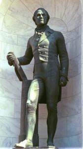 Adolph A. Weinman, Alexander Hamilton, dedicated 1941. Photo (c) 2014 Dianne L. Durante