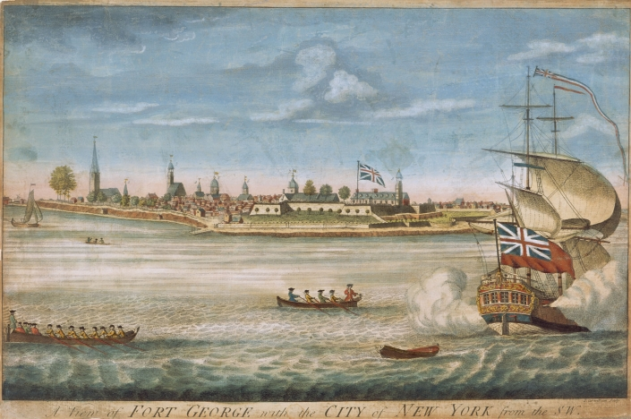 New York ca. 1764.