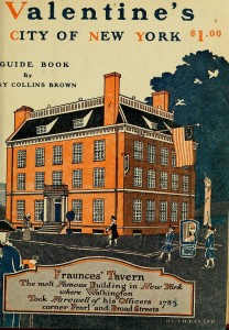Fraunces Tavern, from the cover of a 1920 guidebook.