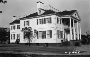 Morris-Jumel Mansion, from a 1936 survey. Photo: Library of Congress via Wikipedia