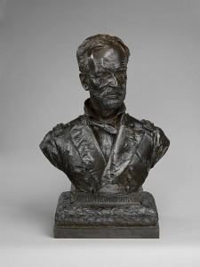 Augustus Saint Gaudens, General William Tecumseh Sherman, 1888. This cast 1912. Metropolitan Museum of Art, Gift by subscription through the Saint-Gaudens Memorial Committee, 1912. Photo: MetMuseum.org