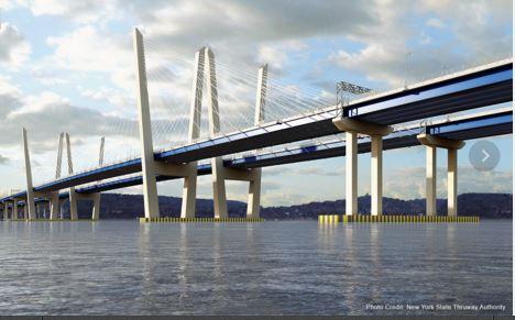 New tappan zee bridge completion date