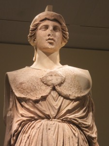 Athena, original mid-5th c. BC, this Greek copy ca. 170 BC. Berlin, Staatliche Museen. Photo: Dianne L. Durante.