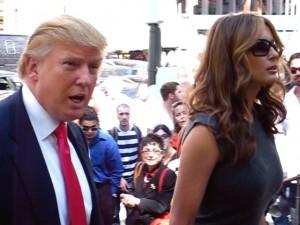 Donald & Melania Trump, 2006. Photo: Wikipedia / Boss Tweed