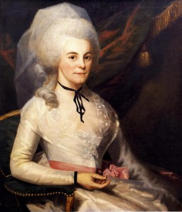 Elizabeth Schuyler Hamilton, 1787. Museum of the City of New York. Image: Wikipedia