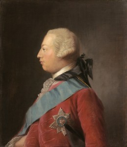 King George III in 1762, by Ramsay. Image: Wikipedia