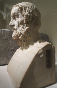 Homer, original 2nd c. BC, this Roman copy 1st c. AD. London, British Museum. Photo: Dianne L. Durante
