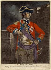 General William Howe, ca. 1777. Image: Wikipedia