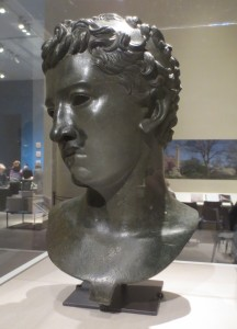 Head of Juba II of Numidia, in the Pergamon exhibition at the Metropolitan Museum of Art. Photo: Dianne L. Durante
