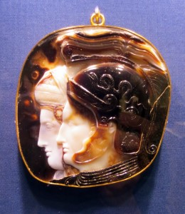 Onyx cameo of Ptolemy II and his sister-wife, Arsinoe II, ca. 278-269 BC. Vienna, Kunsthistorisches Museum. Photo: Dianne L. Durante