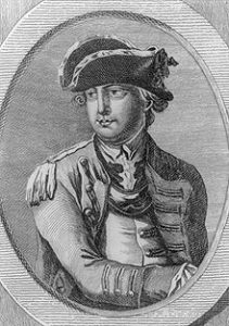 General Charles Lee, from a contemporary engraving