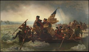 Emanuel Leutze, Washington Crossing the Delaware, 1851. Image: MetMuseum.org