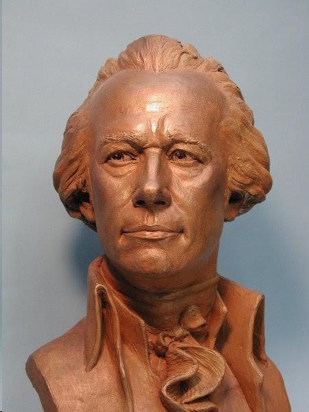 Alexander Hamilton, by Zenos Frudakis. Photo: Zenos Frudakis