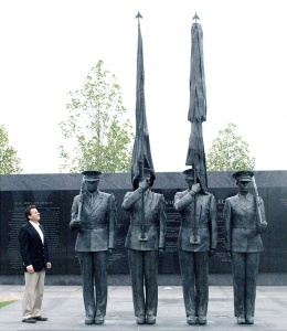 Air Force Memorial at Arlington National Cemetery. Photo: Zenos Frudakis / Wikipedia