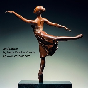 Holly Crocker Garcia, Andantino. Photo courtesy Quent Cordair Fine Art.