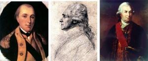Lafayette, Rochambeau, De Grasse