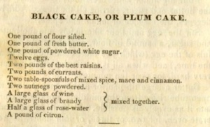 Mrs. Leslie's wedding cake recipe