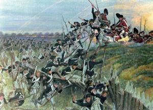Storming of Redoubt 10, later rendition sponsored for the U.S. ___ Military History (via Wikipedia)