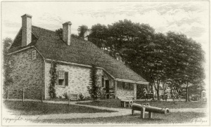 Washington's headquarters at Newburgh, N.Y. Image: Wikipedia