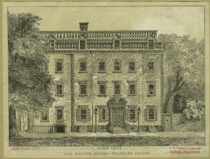 Walton House. Image: NYPL Digital Collections.