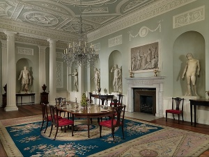 Lansdowne House dining room, 1760s. Metropolitan Museum of Art. Photo: MetMuseum.org