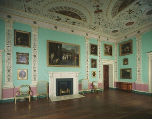 Drawing room of Lansdowne House, now at the Philadelphia Museum of Art. Photo courtesy the Philadelphia Museum of Art.