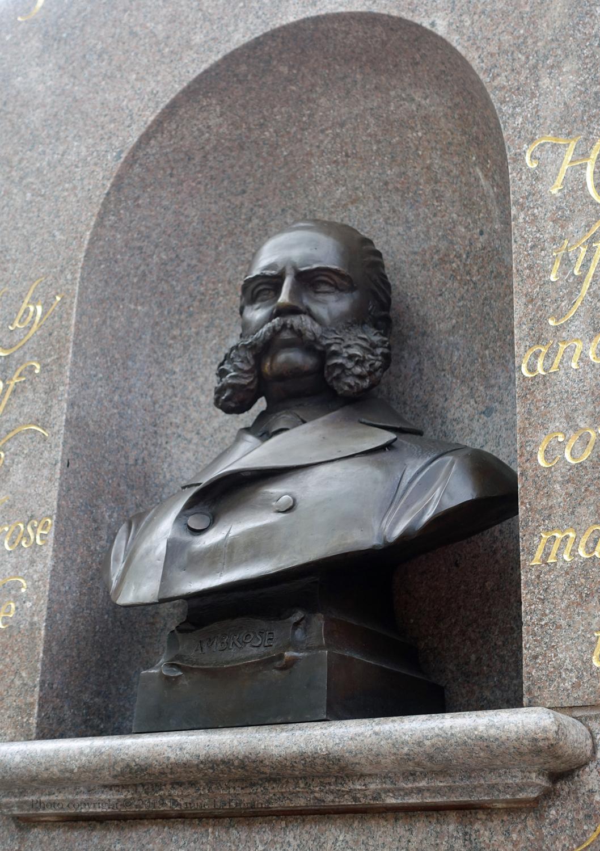 John Wolfe Ambrose, Battery Park