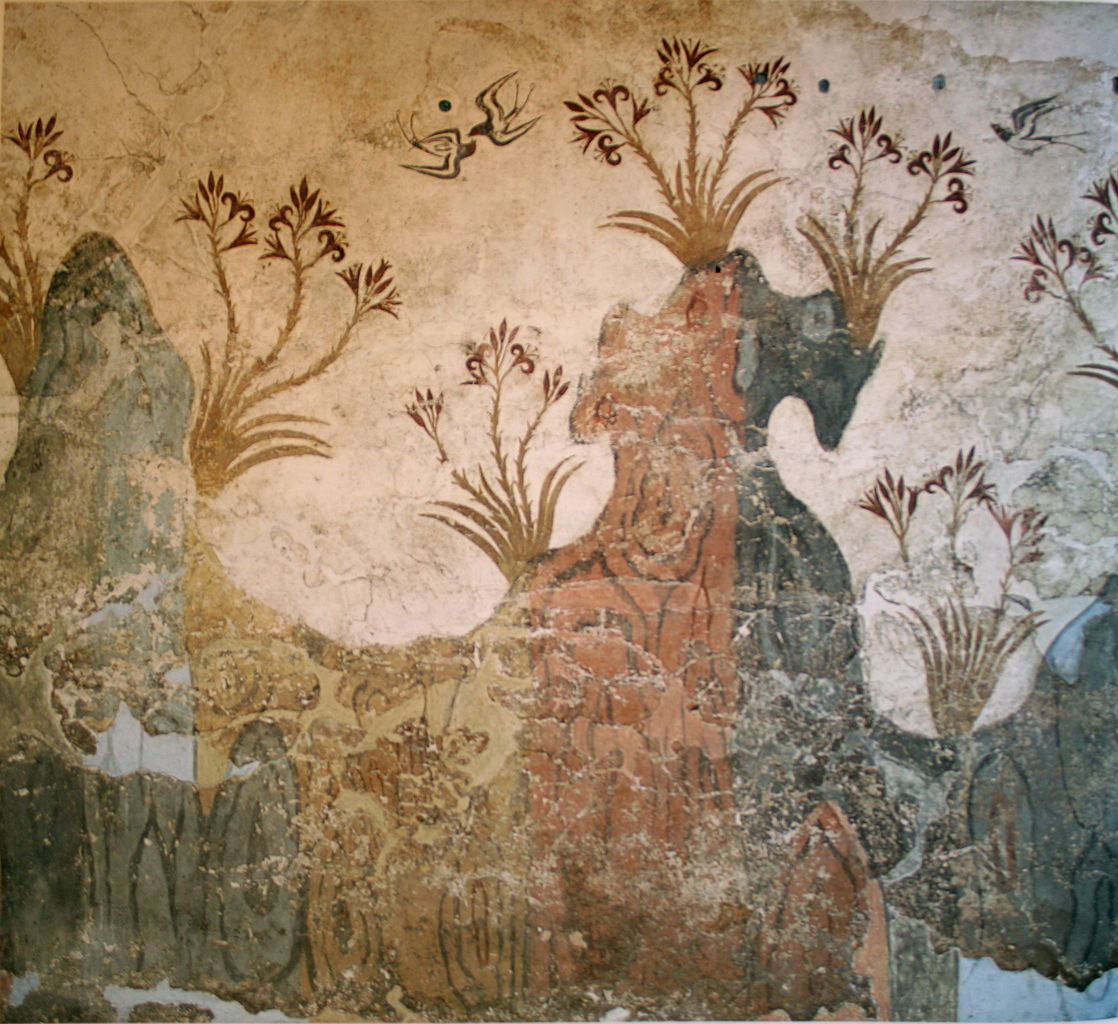 Painting Before 1300 AD (4): Minoan