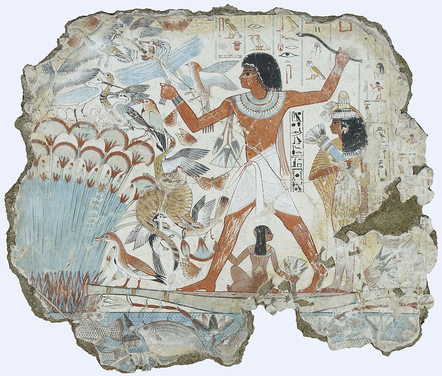 Painting before 1300 AD (3): Egyptian