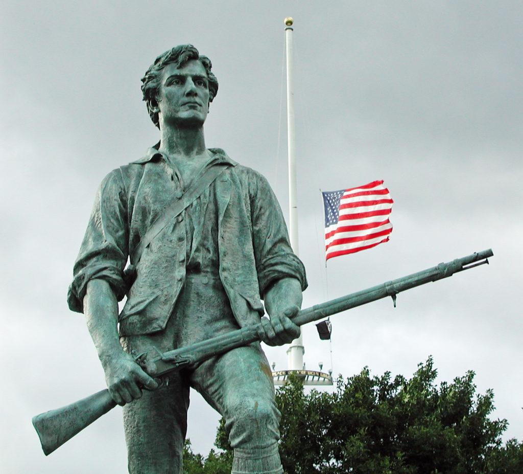 Celebrating The Battles Of Lexington And Concord: Kitson